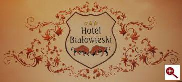 Artmur - Malowidło ścienne będące oprawą malarską herbu Hotelu Białowieskiego zaprojektowane i wykonane przez naszą pracownię w Hotelu Białowieskim w Białowieży