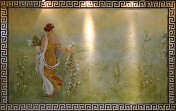 Artmur - Malowidło ścienne w Parku Wodnym Tropikana w Hotelu Gołębiewskim w Białymstoku