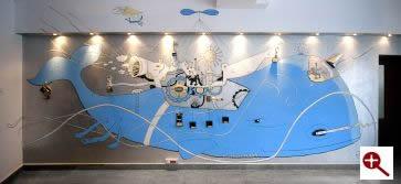Artmur - Malowidło ścienne w Warszawie