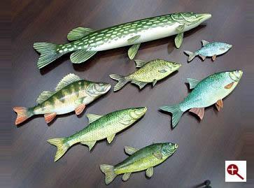 Ryby 3D Muzeum Pierwszych Piastów na Lednicy