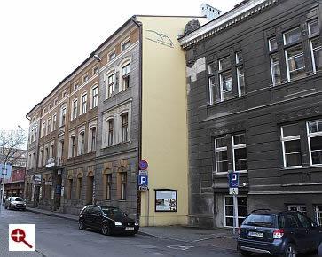 Artmur - Sgraffito logo Regionalnego Ośrodka Kultury w Bielsko-Białej